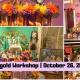 Paper Marigold Workshop for Día de los Muertos con Esperanza