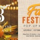 Fall Festival Pop-Up Market