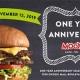 MOOYAH's One Year Anniversary!
