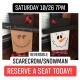 DIY Reversible Scarecrow/ Snowman