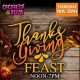 Thanksgiving Feast at Coconuts On The Beach