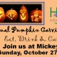 2nd Annual Pumpkin Carving Party ~ Eat Drink & Carve