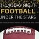 Thursday Night Football Under the Stars