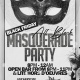 Blace Friday All Black Masquerade Party