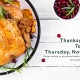 Thanksgiving Day To-Go