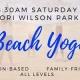 Saturday Beach Yoga
