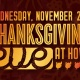 Thanksgiving Eve Party | Howl at the Moon