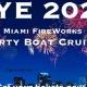 NYE Miami PartyBoat Fireworks Cruise
