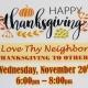 Thanksgiving Dinner... FREE