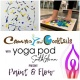 Paint & Flow with Canvas and Cocktails and Yogapod!