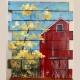 NEW! Farmhouse Wood Panel