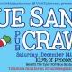 Blue Santa Pub Crawl