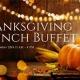 Thanksgiving Brunch Buffet at Hilton Daytona Beach Oceanfront Resort