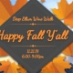 Deep Ellum Wine Walk: Happy Fall, Y'all!