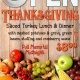 OPEN Thanksgiving Day!