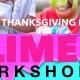 Thanksgiving Break Slime Workshop