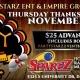 99 JAMZ TURKEY BOWL BOWLING PARTY THANKSGIVING NIGHT @ SPAREZ 11/28