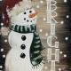 Merry & Bright Rustic Snowman