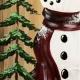 Warm Rustic Snowman
