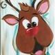 Peekaboo Crazy Christmas - Reindeer