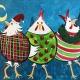 Crazy Christmas Chickens