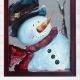 Rebeca Flott Arts - Pick Me Snowman! -Screen Art