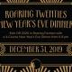Roaring Twenties New Year's Eve Dinner