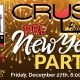 CRUSH Happy Hour - PreNYE Party