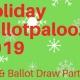 Holiday Ballotpalooza 2019