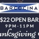 Thanksgiving Eve at Barcocina
