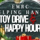 Helping Hands Toy Drive & Happy Hour