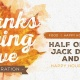 Thanksgiving Eve Party at Papa Doc's Shore Club