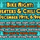 Bike Night: Ugly Sweaters and Chili Cookoff
