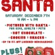 Pictures w/ Santa & Ugly Sweater Contest