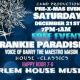 Free Harlem Pre-Christmas House Music Event Frankie Paradise