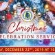 Christmas Celebration Service 2019