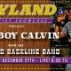 Cowboy Calvin performs with the Joyland Backline Band