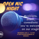 Wednesday Open Mic Night