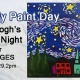 Family Paint Day-Starry Night