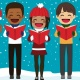 Christmas Caroling and Christmas Parties