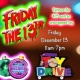 Friday the 13th Tattoo Toy Drive