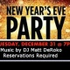 New Year's Eve Party 7 pm