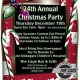 24th Annual Christmas Party