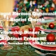 Church Potluck Fellowship Dinner & Christmas Program
