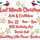 Last Minute Christmas Arts & Crafts Show