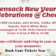 Hackensack New Years Eve Celebration Buffett & Open Bar
