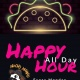 Monday- All Day Happy Hour