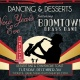 Dancing & Desserts: NYE with Boomtown Brass Band