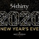 54thirty New Year's Eve 2020
