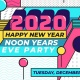 Noon New Year's Eve Party